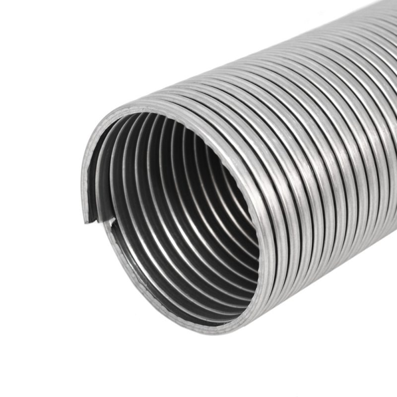 Fibre Packed Galvanised Flexible Steel Tubing
