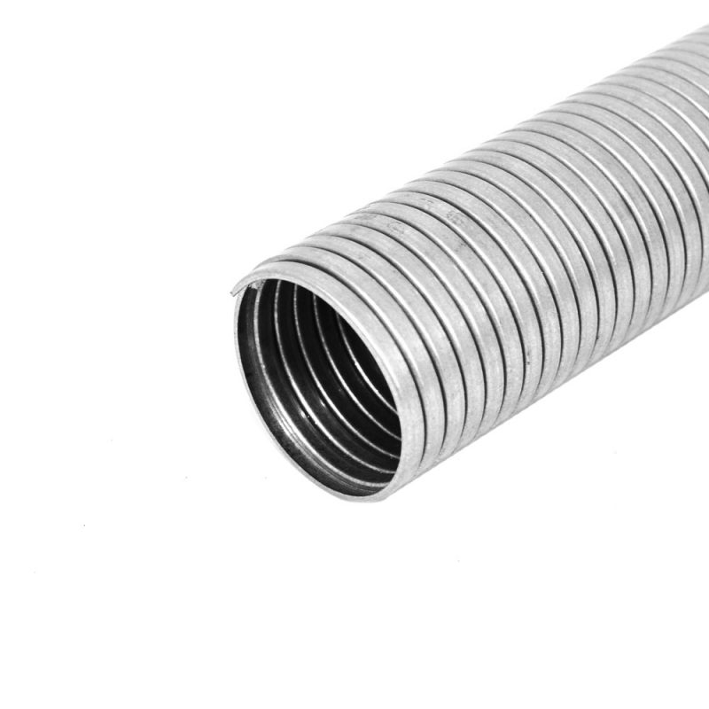 Fibre Packed Squarelock Flexible Metallic Tubing
